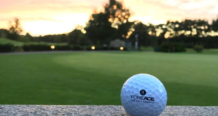 Kompression des Golfballs